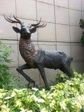 Deer - great sculpture Stock Images