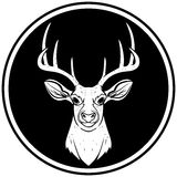 Deer Head Icon Royalty Free Stock Image
