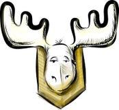 Deer head sketch vector illustration Stock Photo