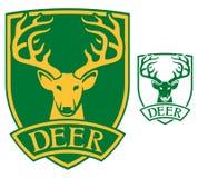 Deer head symbol Stock Photo