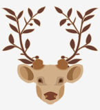 Deer head. Stock Image
