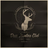 Deer Hunters Club Royalty Free Stock Photo