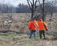Deer Hunters Royalty Free Stock Photo