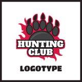 Deer hunting badge Stock Image