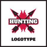 Deer hunting badge Stock Photos