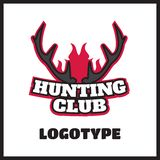 Deer hunting badge Royalty Free Stock Photos