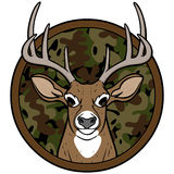 Deer Hunting Insignia Stock Photography