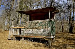 Deer Hunting stand Stock Images