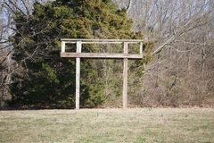 Deer Hunting Stand Royalty Free Stock Photography