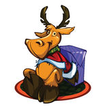 Deer. I present to you a Christmas icon - Deer Stock Photography