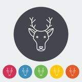 Deer icon Stock Photo