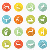 Deer icon Royalty Free Stock Images