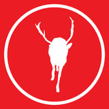 Deer icon Stock Photography
