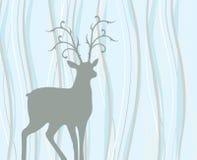 Deer illustration Royalty Free Stock Images