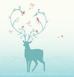 Deer illustration Stock Image