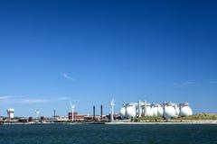 Deer Island Sewage. The Deer Island Sewage plant in Boston Massachusetts Royalty Free Stock Images