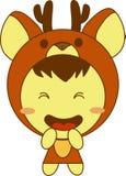 Deer kid Royalty Free Stock Photo