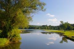 Deer Lake. Schuylkill County, Pennsylavania Royalty Free Stock Photo