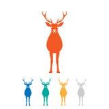 Deer logo Royalty Free Stock Photo