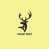 Deer Logo Template. Vector Illustration royalty free illustration