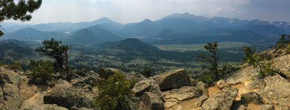 Deer Mountain Summit royalty free stock photos