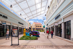 Deer Park NY Factory Outlet Mall Stock Photo