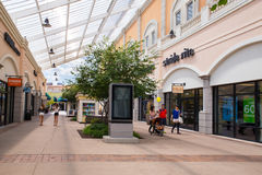 Deer Park NY Factory Outlet Mall Royalty Free Stock Photo