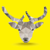 Deer Polygon vector Royalty Free Stock Photography