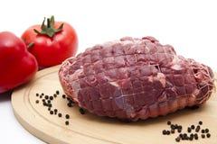 Deer roast raw Stock Photography