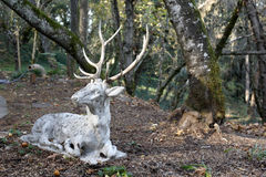 Deer Sculpture Royalty Free Stock Images