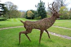 Deer statue Stock Photos
