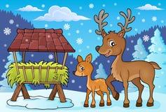 Deer theme image 4 Royalty Free Stock Photos