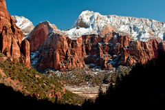 Deer Trap Mountain In Winter Stock Image