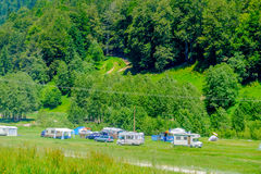 Deer Valley Camping Royalty Free Stock Images