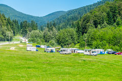 Deer Valley Camping Royalty Free Stock Photography