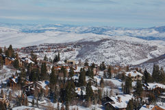 Deer Valley Ski Resort Royalty Free Stock Images
