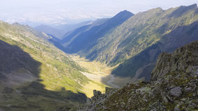 Deer valley. Valea Cerbului, from Bucegi mountain, Romania Royalty Free Stock Photos