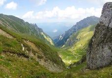 Deer valley. Valea Cerbului, from Bucegi mountain, Romania Royalty Free Stock Photo