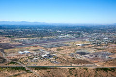 Deer- Valleyflughafen Stockbild
