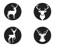 Deer vector icon illustration design royalty free illustration