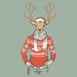 Deer vector illustration Stock Image