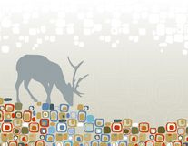 Deer Wilderness Silhouette Royalty Free Stock Photography