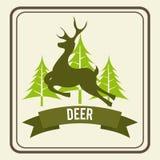 Deer zone Stock Photo