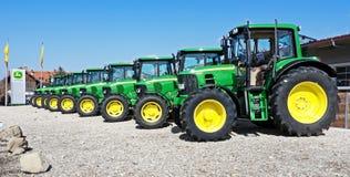 deerejohn traktor Fotografering för Bildbyråer