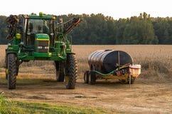 deerejohn traktor Royaltyfria Foton