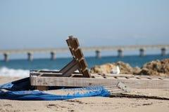 Deerfield海滩 库存图片