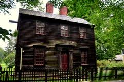Deerfield,马萨诸塞:1816威尔逊印刷所 免版税库存照片