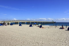 Deerfield Beach International Fishing Pier Royalty Free Stock Image
