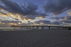 Deerfield Beach Sunrise Royalty Free Stock Photography