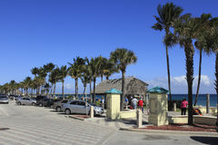 Deerfield Beach in the Winter Royalty Free Stock Photography
